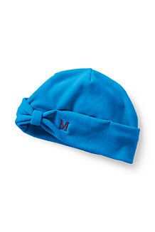 Women's Fleece Bow Beanie Hat