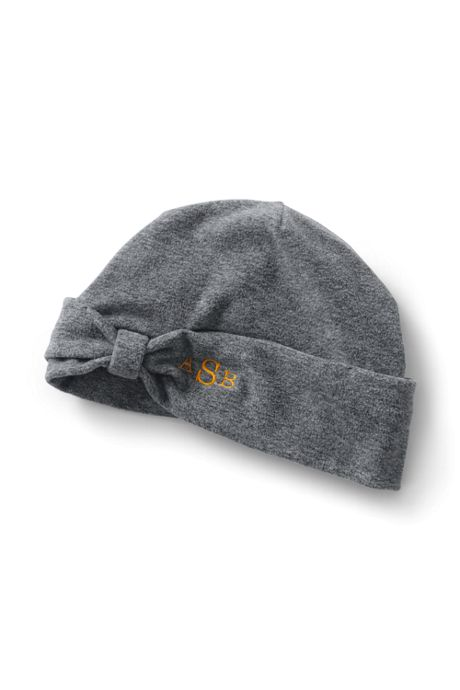 dde12a8d43b Women s 100 Fleece Bow Beanie