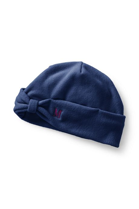 Women's 100 Fleece Bow Beanie