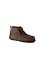 Men's Suede Boot Slippers with Shearling Lining