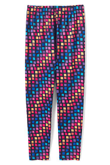 Girls' Printed Thermaskin Thermal Leggings