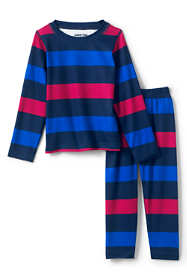 Toddler Kids Thermal Base Layer Long Underwear Thermaskin Top and Bottom Set