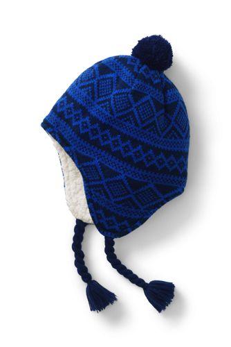 Kids' Peruvian Knit Bobble Hat
