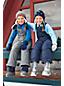 Le Bonnet Style Péruvien Doublé en Polaire Sherpa, Enfant