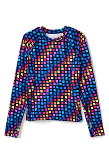 Girls' Printed Thermaskin Thermal Top