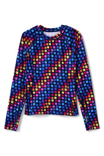 Little Girls' Printed Thermaskin Thermal Top