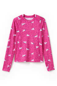 Little Girls Thermal Base Layer Long Underwear Thermaskin Crew Neck Shirt