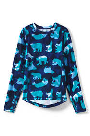 Little Boys Thermal Base Layer Long Underwear Thermaskin Crew Neck Shirt