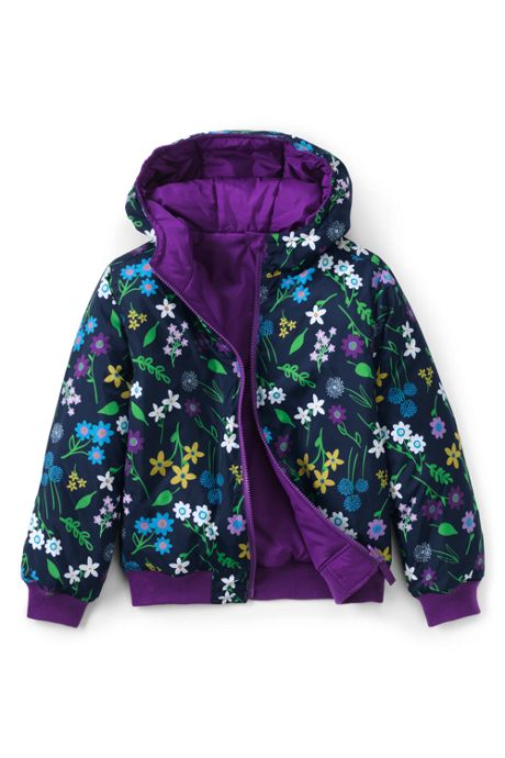 Little Kids Reversible Puffer Jacket