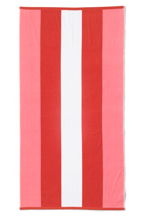 School Uniform Rugby Stripe Beach Towel