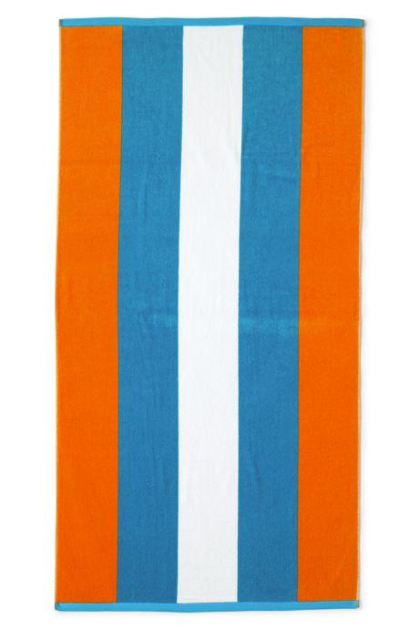 Rugby Stripe Beach Towel