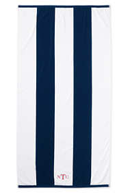 Rugby Stripe Beach Towel