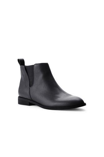 Chelsea-Boots aus Leder für Damen