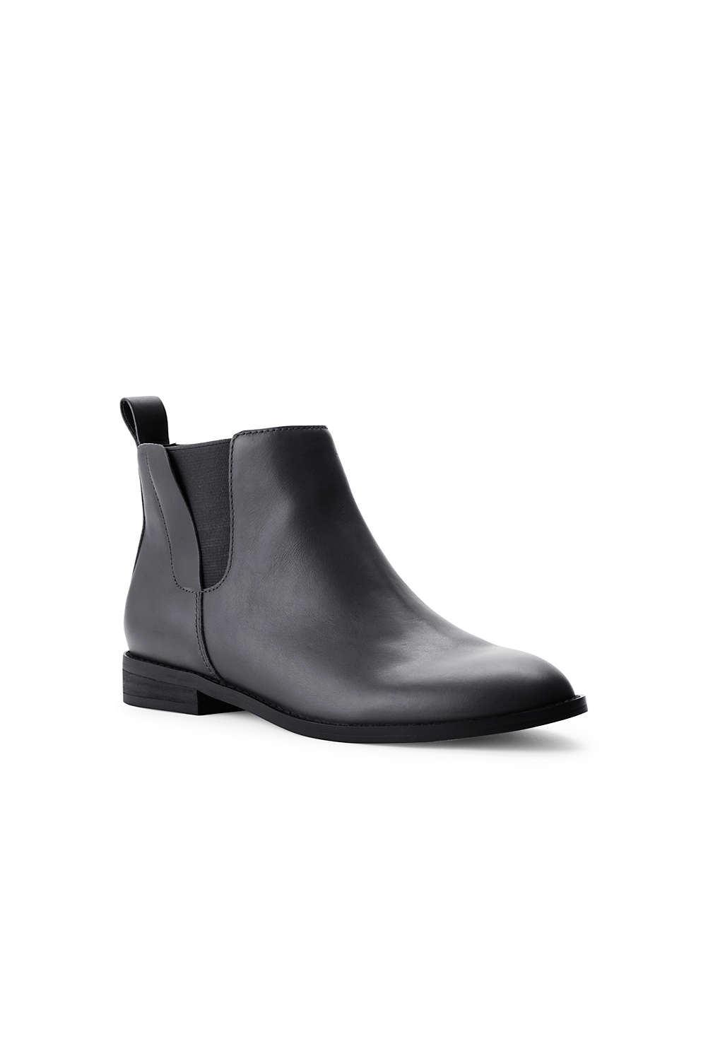 4bd47d5799709 Women s Leather Chelsea Boots from Lands  End