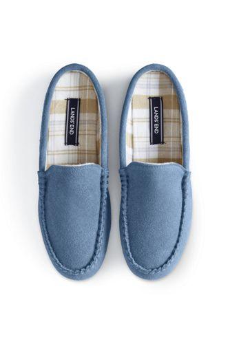Women's Suede Moccasin Mule Slippers