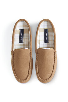 Women's Suede Moccasin Mule Slippers