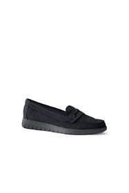 Women's Wide Lightweight Comfort Penny Loafers