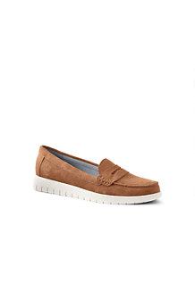 Women's Lightweight Comfort Suede Loafers
