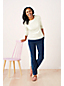 Le Mocassin Penny Confort en Cuir, Femme Pied Standard