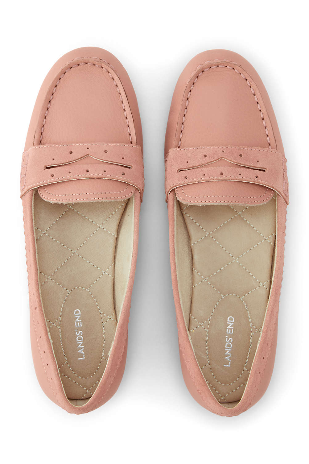 69900cd591dd Women s Leather Everyday Comfort Penny Loafers from Lands  End
