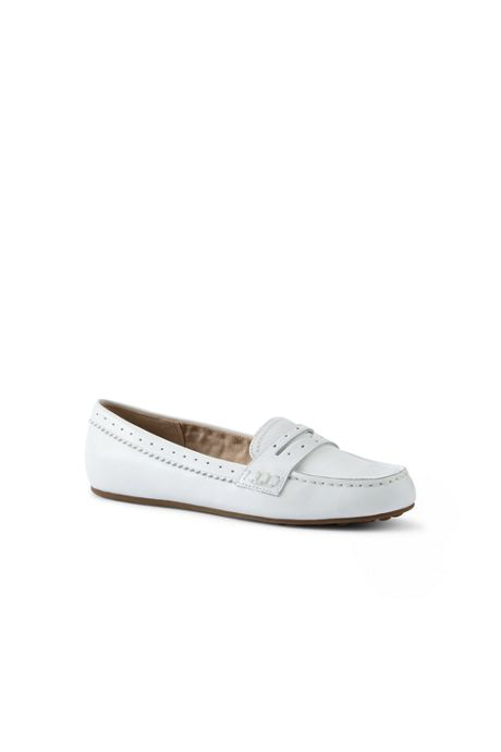 Women's Leather Everyday Comfort Penny Loafers