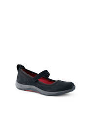 Women's Wide Comfort Mary Jane Suede Shoes