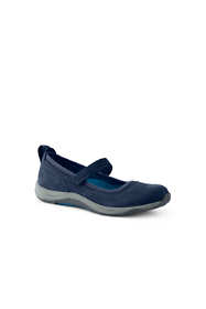Women's Wide Width Comfort Mary Jane Suede Leather Shoes