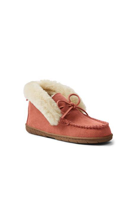 Women's Shearling Bootie Slippers