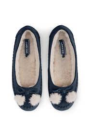 Women's Suede Ballet Slippers