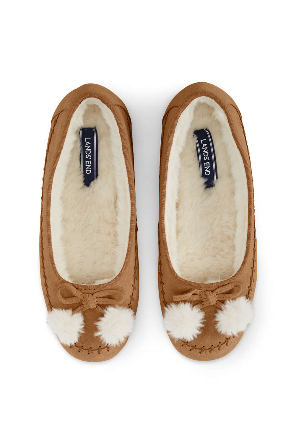 24fefe29fc6 Women s Suede Ballet Slippers from Lands  End
