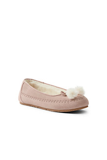 Women's Suede Ballet Slippers