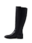 Women's Wide Leather Riding Boots