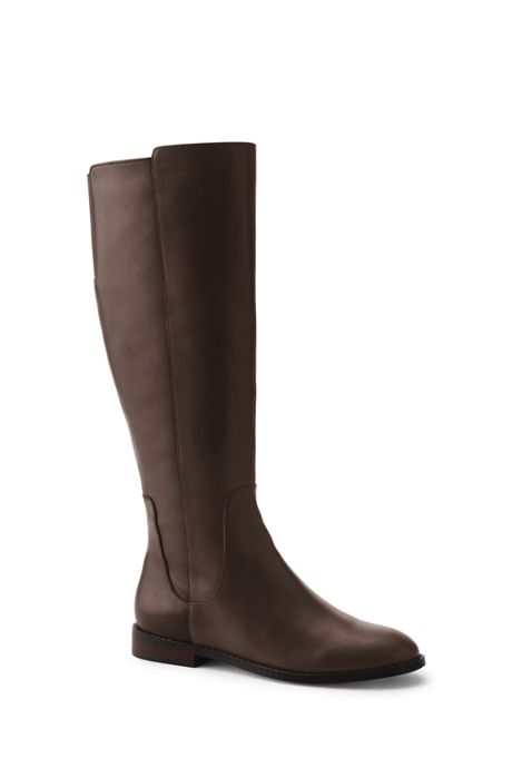 Women's Wide Riding Boots