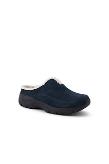 Women's Sherpa Lined Everyday Suede Mules