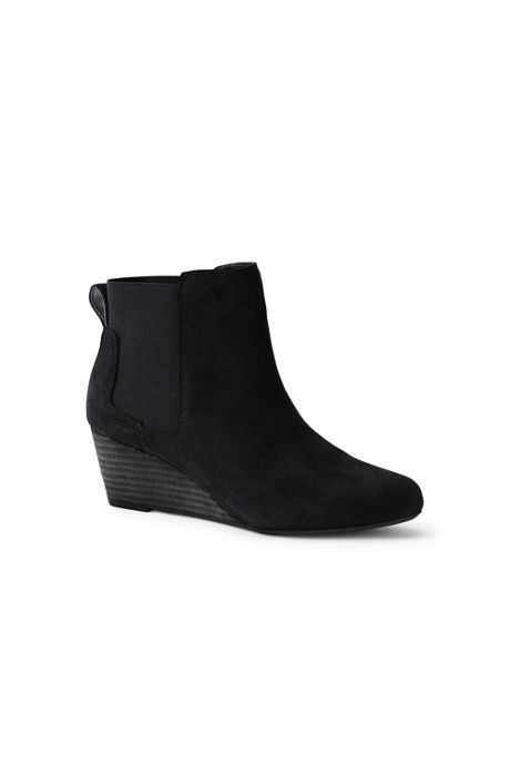 Women's Wedge Chelsea Boots
