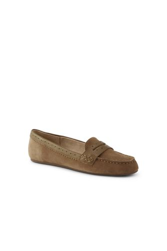 Women's Everyday Comfort Penny Loafers in Suede