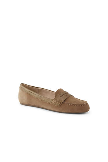 0101d448b2c3 Women s Suede Everyday Comfort Penny Loafers from Lands  End