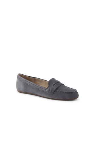 Women's Comfort Suede Penny Loafers
