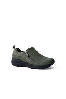 Women's Everyday Side-zip Suede Shoes