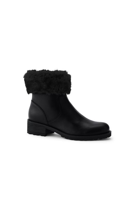 Women's Cuffed Booties