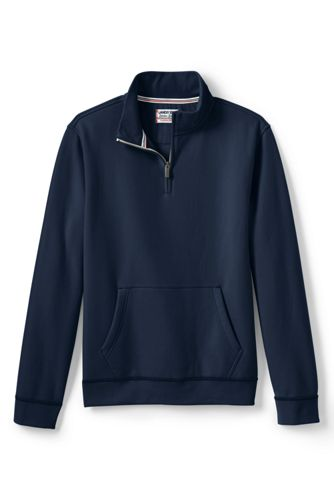 Le Sweat Col Haut Zippé Serious Sweats, Homme Stature Standard