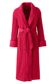 Women's Petite Terry Long Robe