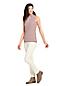 Le Haut Rayé en Coton Modal Stretch Sans Manches, Femme Grande Taille