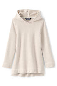 School Uniform Girls Plus Size Hoodie Tunic Top