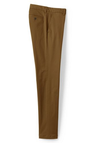 Le Chino Casual Slim Stretch Ourlets Sur-Mesure, Homme Stature Standard