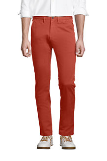 Le Chino Casual Slim Stretch Ourlets Sur-Mesure, Homme