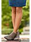 Chelsea-Boots aus Veloursleder für Damen