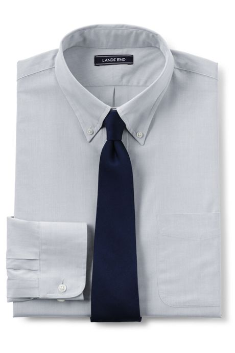 Men's Tall Traditional Fit 40s Poplin Dress Shirt