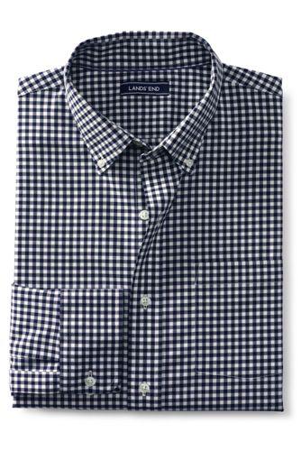 メンズ・ノーアイロン・ブレザーシャツ/ストレッチ/ボタンダウン/長袖
