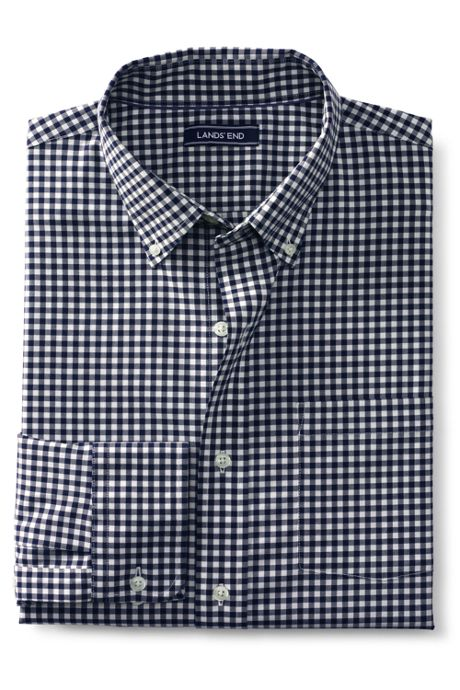 Men's Tall Traditional Fit Comfort First No Iron Twill Shirt